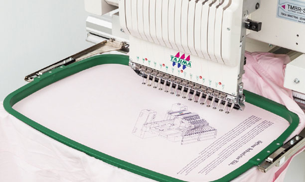 TMBR-SC多功能单头刺绣机
