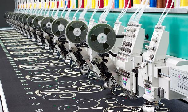 TLMX系列环缝盘带及卷绣刺绣机