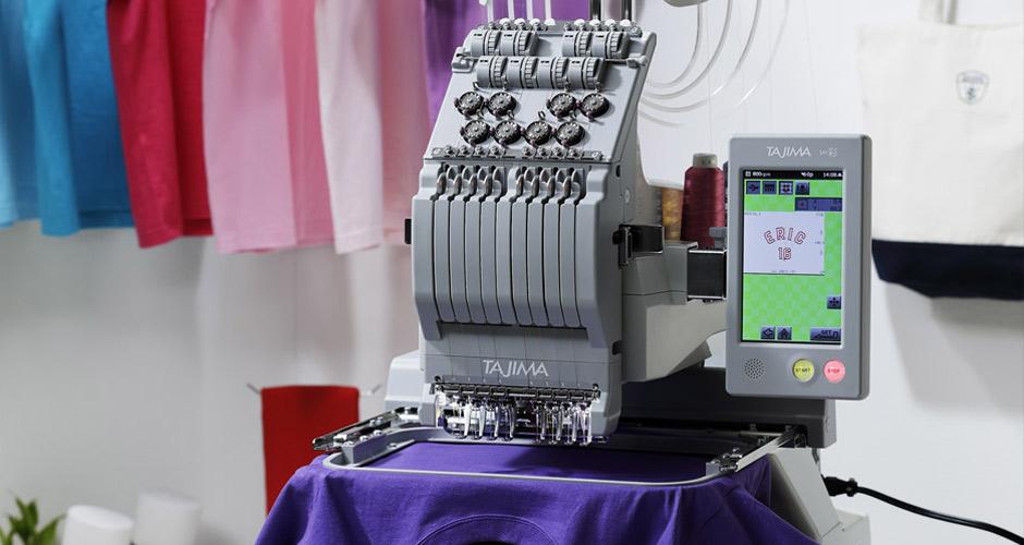 SAI彩—田岛商用单头刺绣机