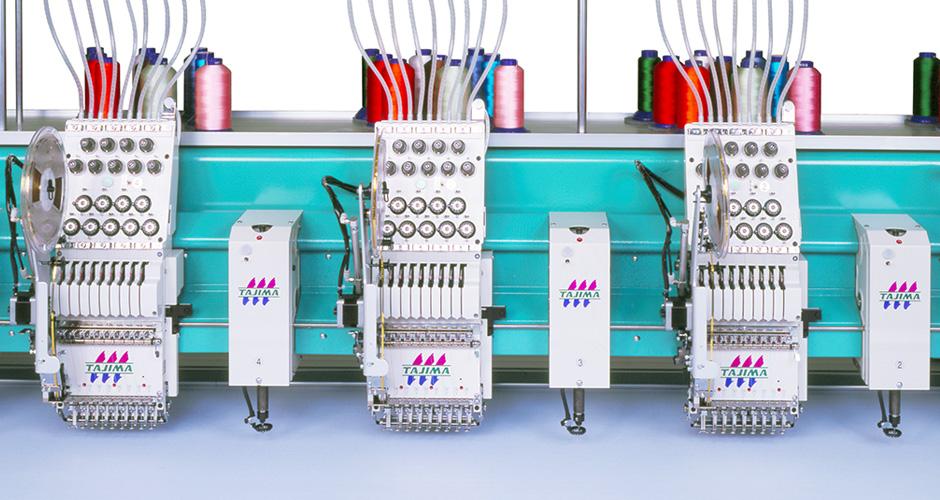 TCMX系列多合一混合毛巾绣刺绣机
