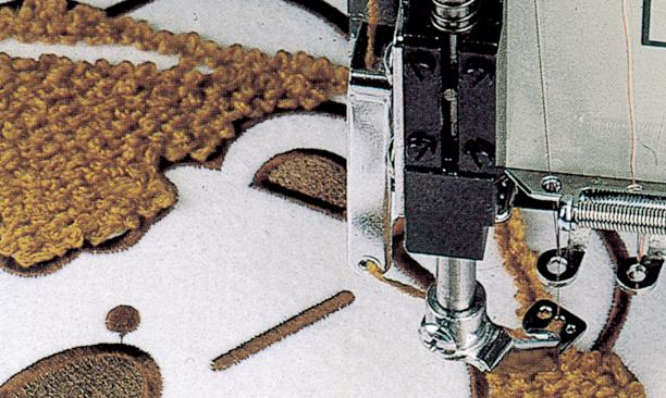 高速绳绣·仿毛巾绣装置 (KB-2M)