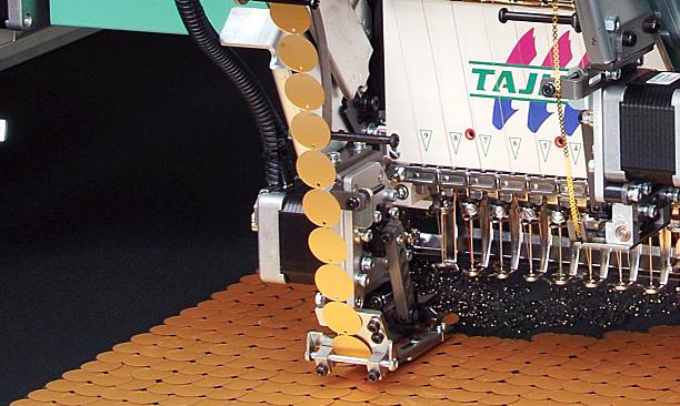 高速珠片绣装置(2-22mm)