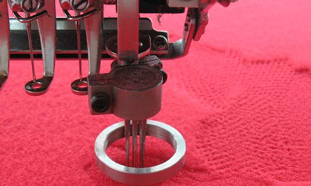 植绒绣装置